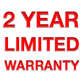 2-Year Limited Warranty