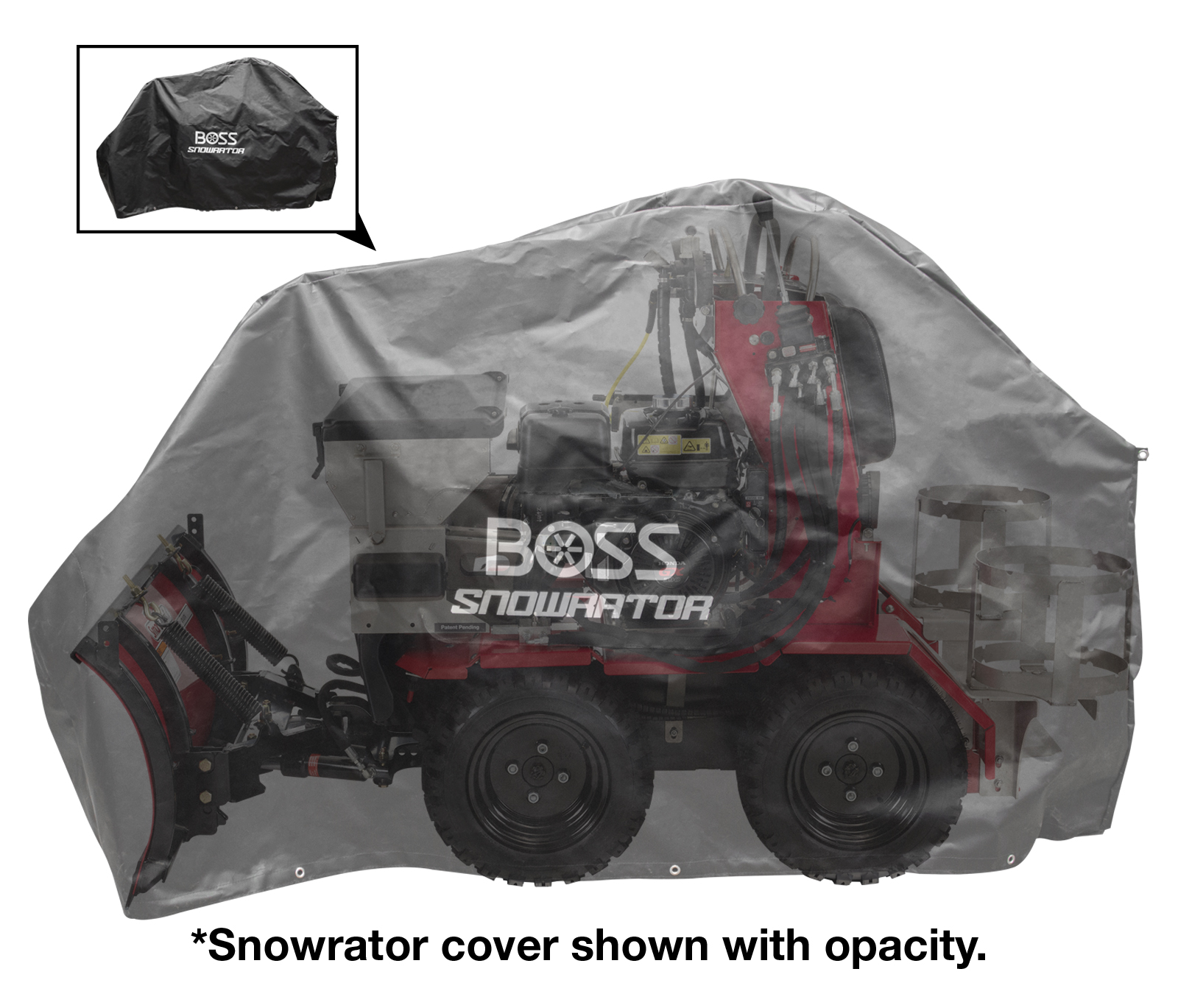 Snowrator Cover Exact Path Drop Spreader