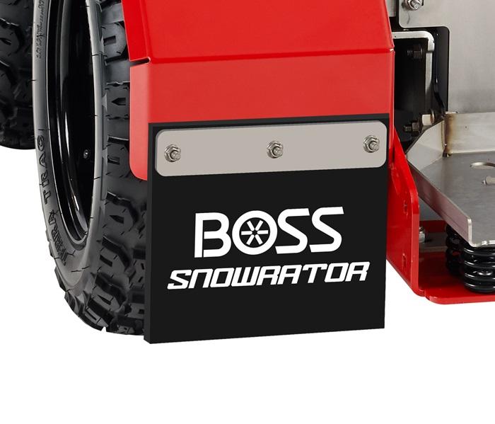 snow flaps cover wheel