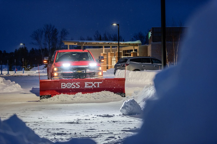 Boss Snowplow Sl3 L E D With Ice Shield Technology
