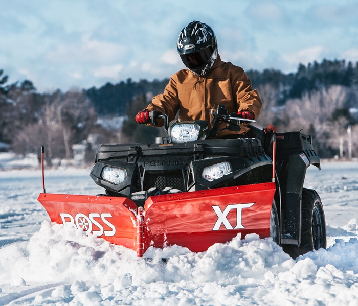 BOSS Snowplow | ATV Plows