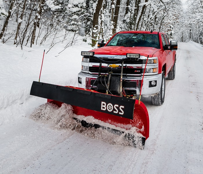 boss snowplow heavy duty plows