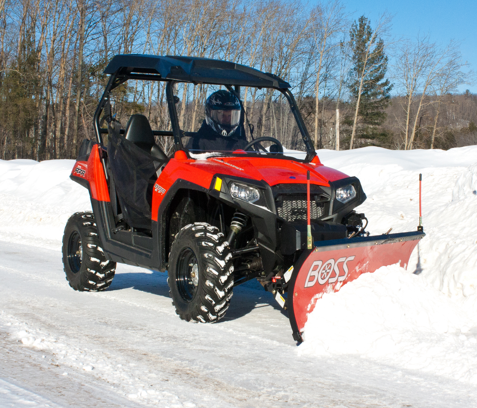 Boss Snowplow Utv Atv Equipment