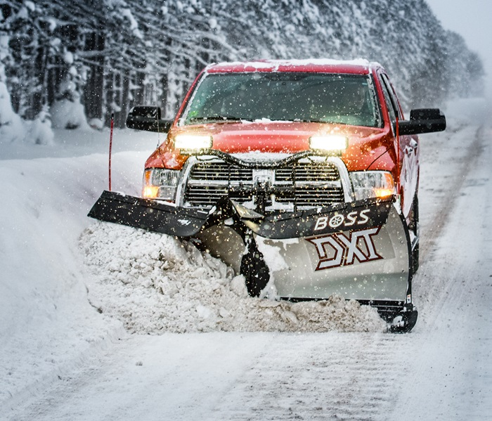 boss snowplow dxt plows