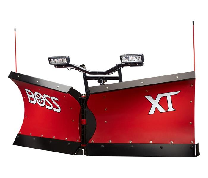 V Plow, Truck Plows, Poly Plow, BOSS Power-V XT | BOSS Snowplow on