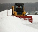 Box Plows & Skid Steer In Action