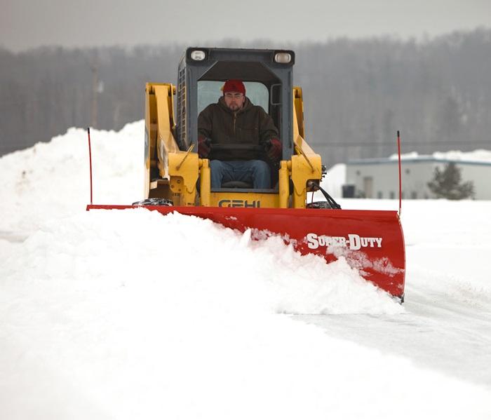 Skid Steer Plows Boss Snowplow