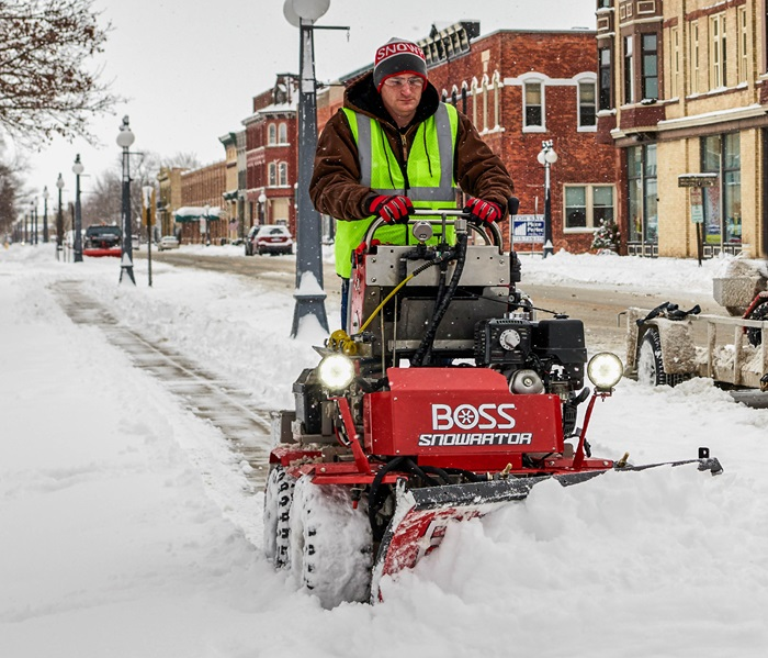Snowrator Boss Snowplow