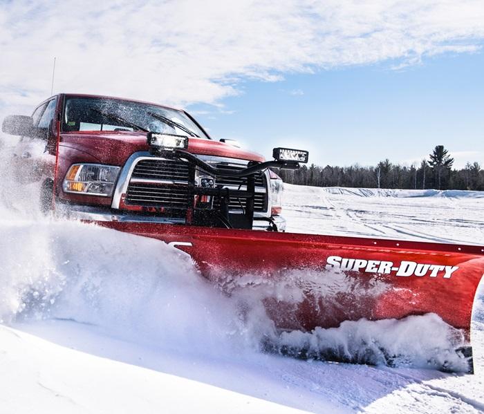 Super-Duty Plows | BOSS Snowplow on