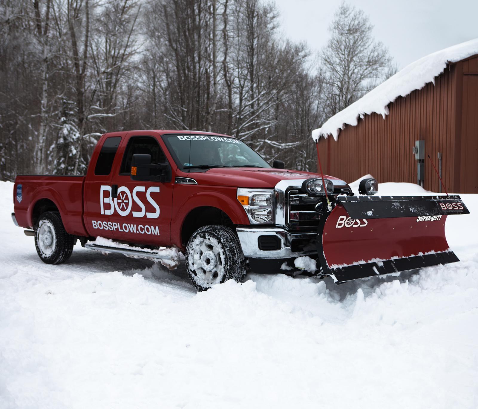 boss snowplow super duty plows rh bossplow com Ford Plow Truck Mounts Meyer Plow Mount Ford