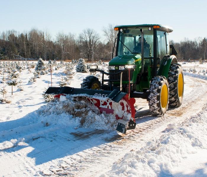 Boss Snowplow Tractor Plows