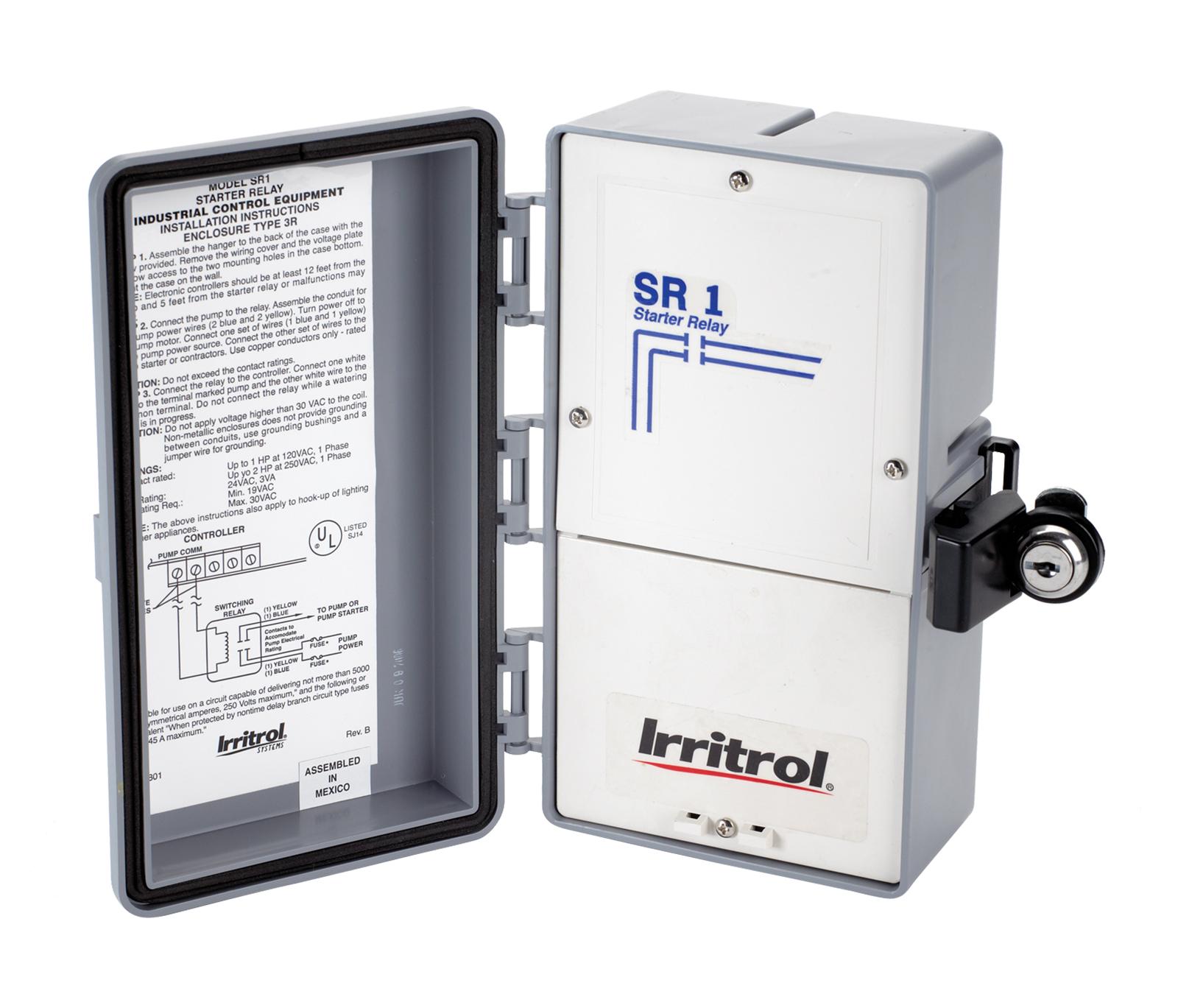 Irritrol Sr1pumpstarrelay. Sr1 Pump Star Relay. Wiring. Relay For Irrigation Pump Wiring Diagram At Scoala.co