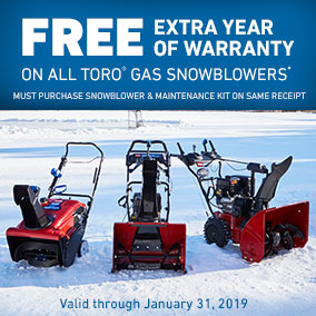 Great deals on snowblowers