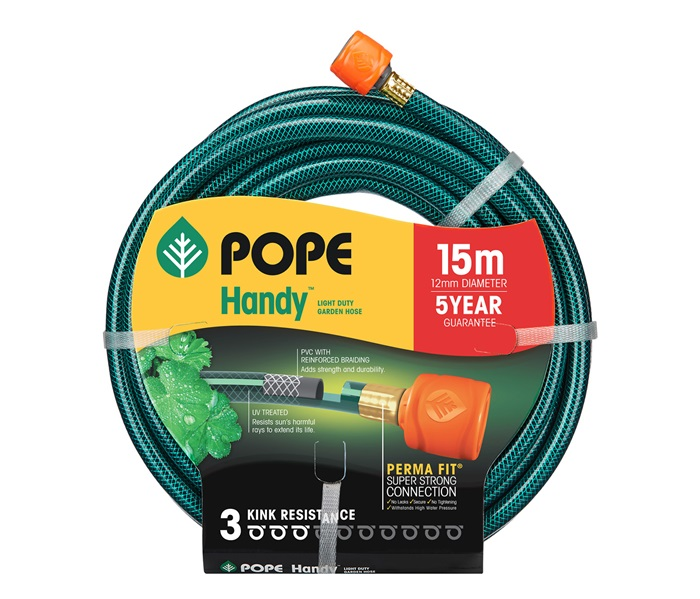 Handy Garden Hose 12mm x 15m Tap Ready