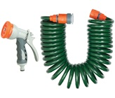 Spiral Hose With Spray Gun