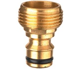 "20mm (3/4"" BSP) x 12mm Brass Sprinkler Adaptor"