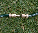 12mm 2 Way Brass Hose Adaptor
