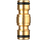 12 mm 2 Way Brass Hose Adaptor
