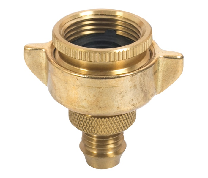 12mm BRASS Nut and Tail 20-25mm Suits Plastic Hose