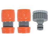 12mm 3 Piece Hose Connector Set