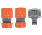 12mm 3 Piece Hose Connector Set