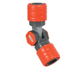 12mm Swivel 2 Way Snap-On Coupler