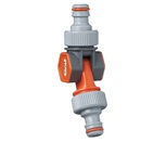12mm Swivel 2 Way Coupler