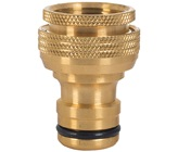 18mm Brass Universal Tap Adaptor