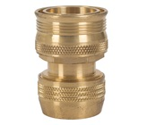 18mm Brass Hose Connector