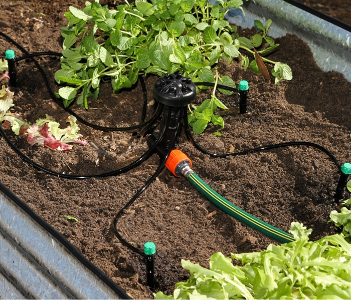 Pope Products | Raised Garden Irrigation Kit