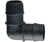 25 mm Barbed x 20 mm BSP Male Threaded Elbow