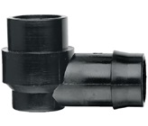 25 mm Barbed x 15 mm BSP Female Threaded Elbow