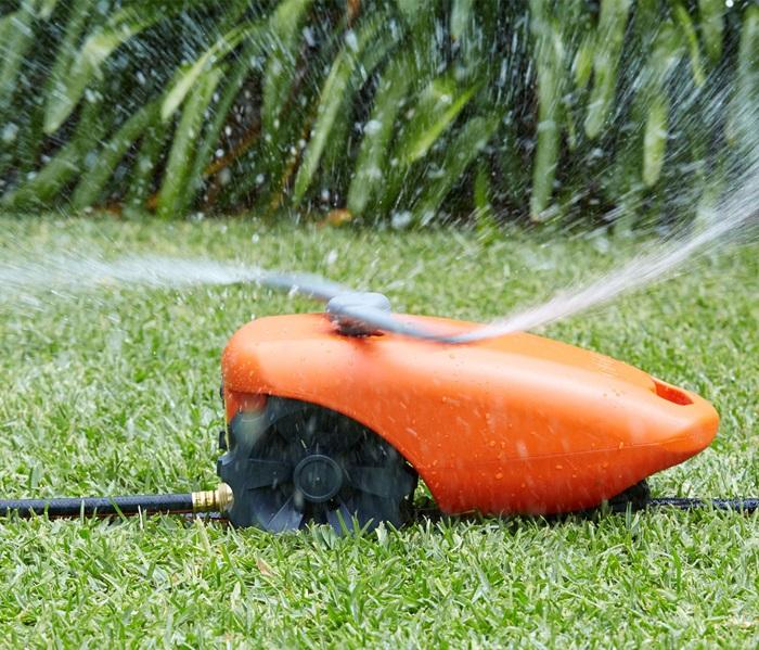 Tractor Sprinkler Shut Off : Pope products water tractor sprinkler