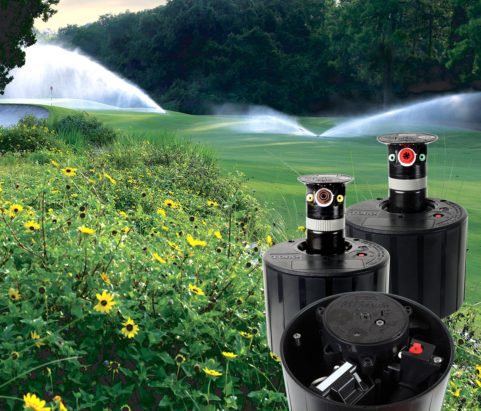 Golf Irrigation Sprinklers