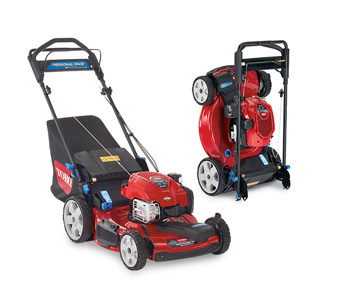 find toro self propel lawn mowers