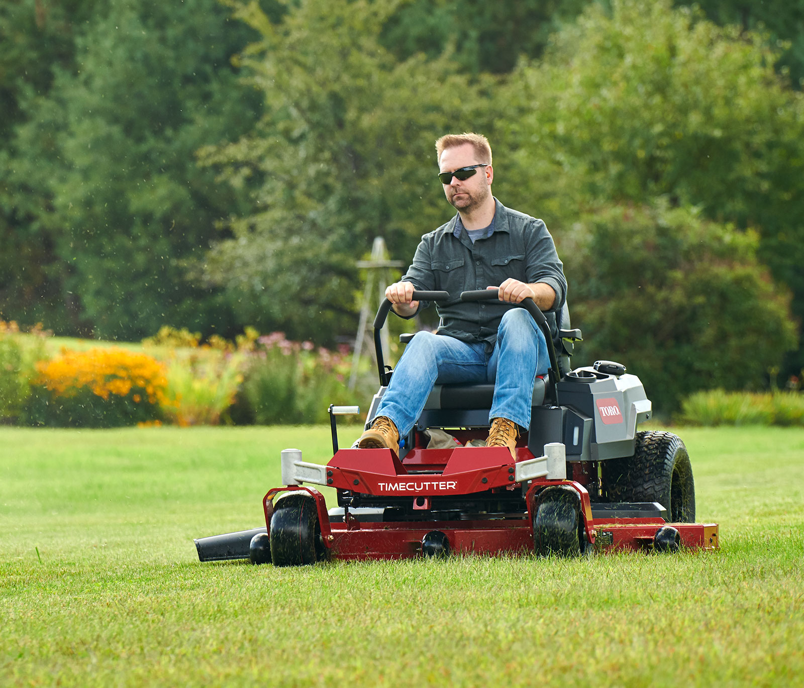 Toro TimeCutter and Titan zero turn mowers