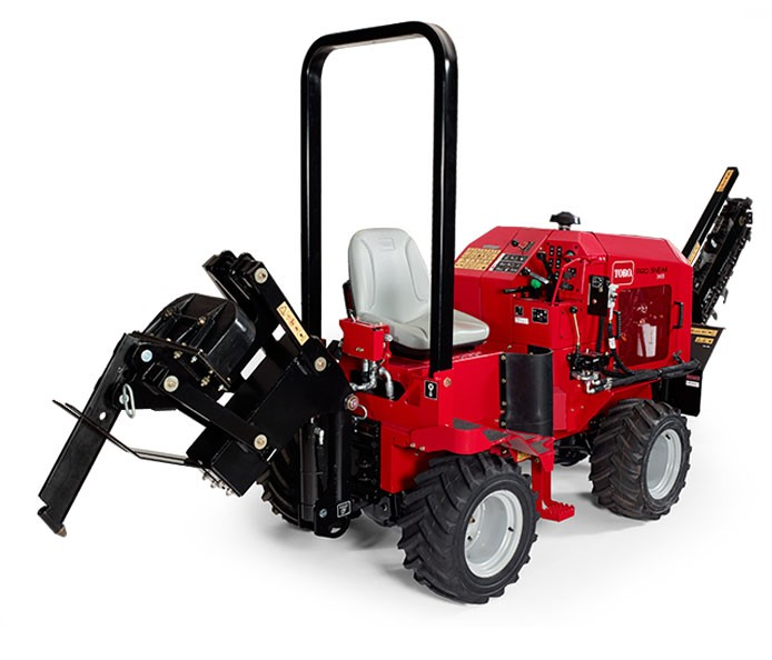 Underground Vibratory Plow on Pro Plow