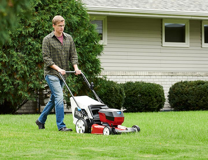 Toro Walk Behind Lawn Mowers