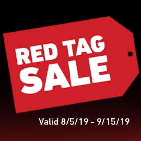 Toro Red Tag Sale
