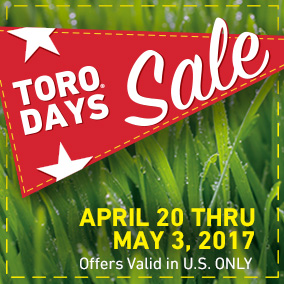 Get great deals on lawn mowers during Toro Days Sale