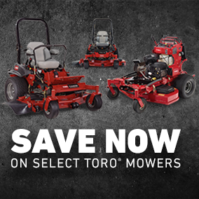 Save On Select Toro Professional Mowers