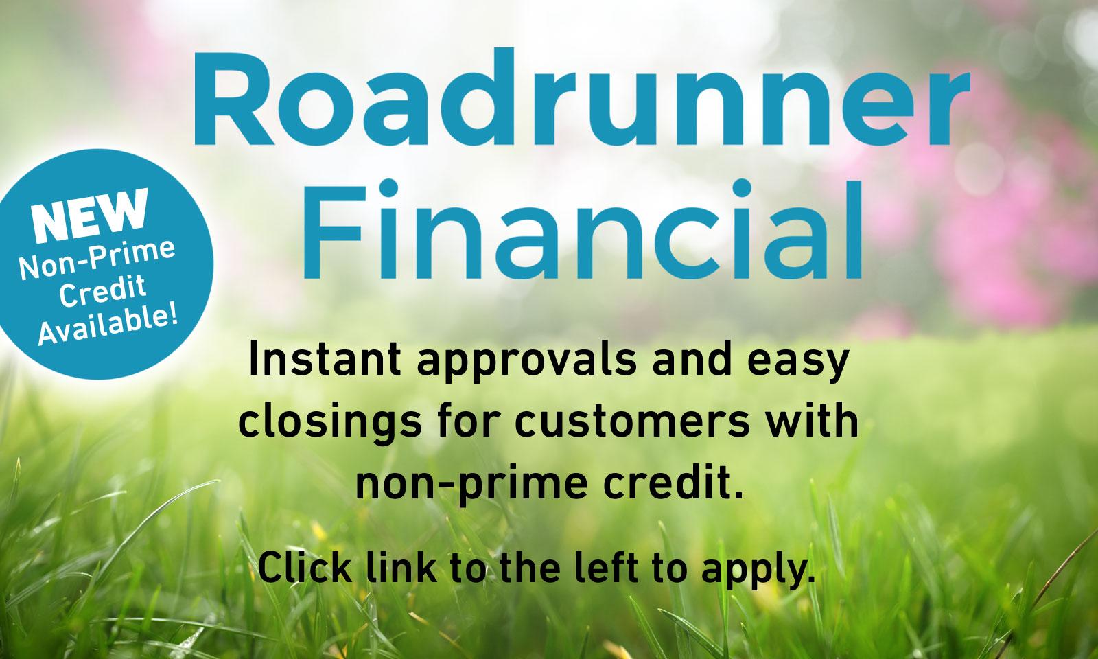 Roadrunner Finance Offer