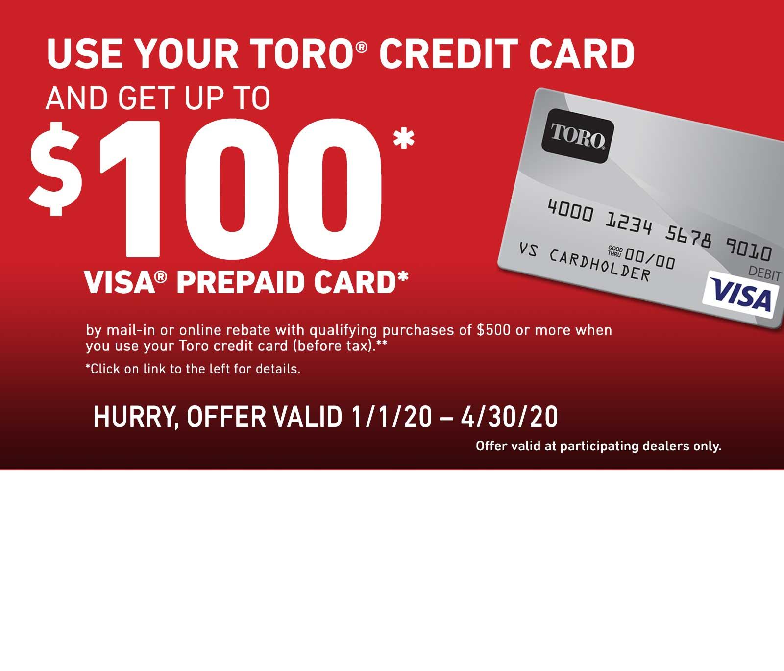 Toro Finance Offer