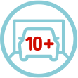 10+ Cars