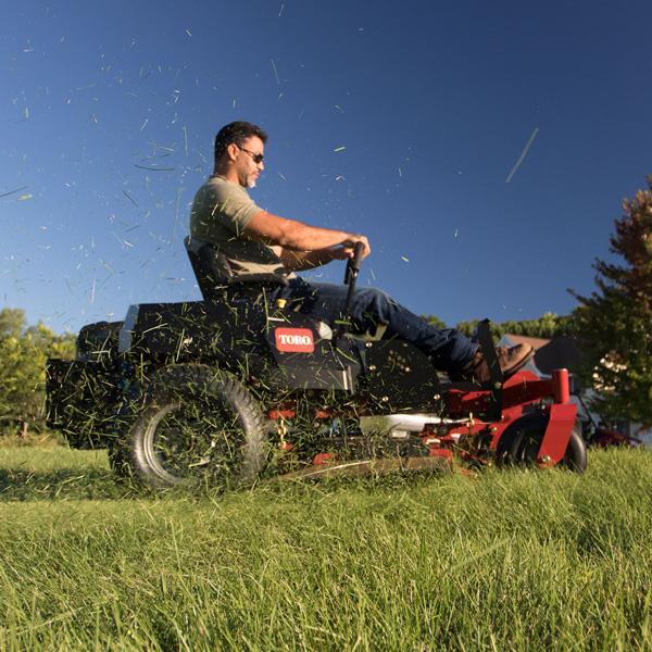 Power Through Tough Grass