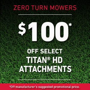 Dollars Off TITAN HD Attachments