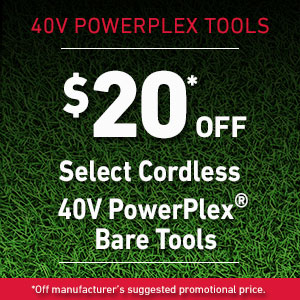 $20 Off Select 40V Bare Tools