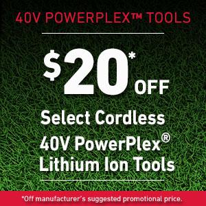 Dollars Off PowerPlex Tools