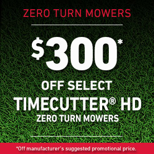 Dollars Off TimeCutter HD Mowers