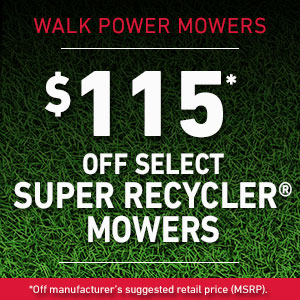 Dollars Off Super Recycler Mowers